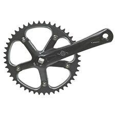 Origin8 Track/Ss Crank Bicycle Crankset-170X46-130X5B-Black-Single Speed-New