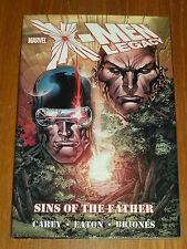 X-MEN LEGACY SINS OF THE FATHER MARVEL CAREY EATON HARDBACK GN < 9780785130024