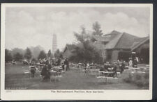 London Postcard - The Refreshment Pavilion, Kew Gardens    T1392