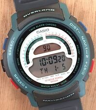 NOS New Casio Overland Navigation 944 W-900 43,5 mm Japan Digital Watch