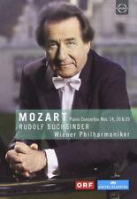 Rudolf Buchbinder: Mozart Piano Concertos DVD (2018) Wolfgang A. Mozart