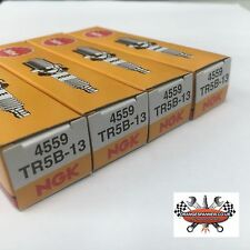 4x NGK TR5B-13 4559 Spark Plugs for Ford B-Max C-Max Fiesta Focus Mondeo Ka
