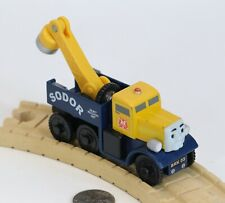 Thomas the Train BUTCH Tow Truck Wooden Railway Toy Learning Curve 2012
