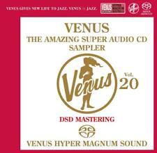 """Venus The Amazing SACD Sampler Vol.20"" Japan Venus Records DSD SACD CD New"