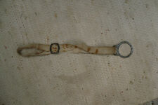 Hand loop made of linen for an old ice axe + for Eispickel piolet