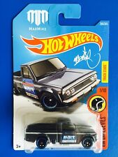 "2017 Hot Wheels JDM 1974 MAZDA REPU ""MAD MIKE"" CUSTOM Pickup truck / ute - mint!"