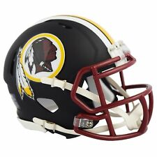Riddell Washington Redskins Black Matte Alternate Speed Mini Football Helmet
