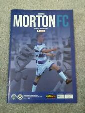 Greenock Morton V Ayr 29/09/2018
