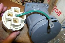 nos russellstoll hsf8414 receptacle 3w4p