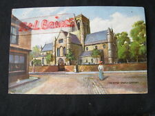 The Parish Chuch, Grimsby, Lincolnshire, 1904 Postcard.