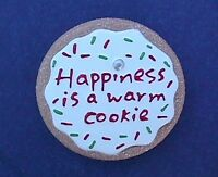 Hallmark MAGNET Christmas Vintage COOKIE SUGAR Happiness is Warm Holiday Fridge