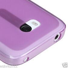 Nokia Lumia 822 Soft Candy Skin Case Cover Transparent Purple