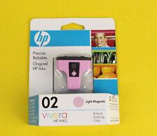 HP 02  Light Magenta  C8775WN Ink Cartridges New Expired  Vivera