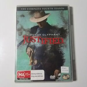 Justified: The Complete Fourth Season   DVD TV Series   Timothy Olyphant   2013