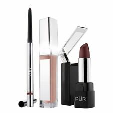 PÜR Quick Pro 3-Piece Berry Lip Kit (Lip Liner/Lip Gloss/Lipstick)