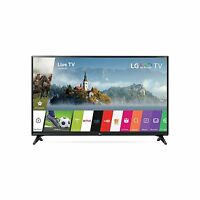 LG Electronics 43LJ5500 43-Inch 1080p 60Hz Smart LED TV with 2 HDMI & 1 USB port