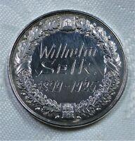 Medaille Silber-999 Hamburg: Wilhelm Selk 1899-1925 Patriotische Gesellschaft st