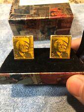 Frank Lloyd Write Stamp Cufflinks 1968