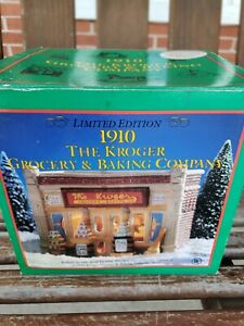 Vintage 1910 The Kroger Grocery & Baking Company Ceramic House Limited Edition