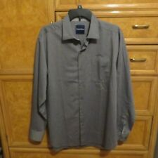 Men's Tommy Bahama long sleeve button down shirt gray purple size M NWT $118