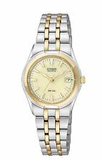 Citizen Eco-Drive Women's EW0944-51P Corso Two Tone Champagne Dial Watch