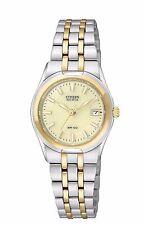 Citizen Eco-Drive Women's EW0944-51P Corso Two Tone Champagne Dial Watch