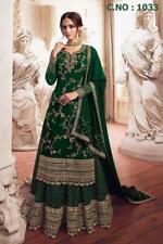 Bollywood Saree Pakistani Party Wear Sari Wedding Festival Indian Plazzo Suit