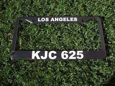 Los Angeles Police Dept Calif KJC 625 License Plate Frame 99 11 CHP LAPD