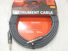 "Planet Waves Instrument Cable 30' ft feet 9.14m 1/4"" to 1/4"" 30ft PW-AG-30"