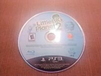 Sony PlayStation 3 PS3 Disc Only Tested Little Big Planet 2 Ships Fast