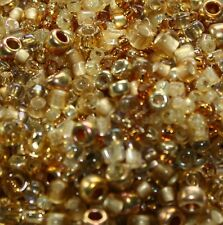 Toho Mix 10g KINTARO Gold Mix Japanese seed bead jewellery craft