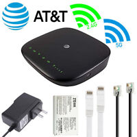 FOR ZTE Home Wireless Wifi 4G LTE Internet Base Router Hotspot (AT&T Unlocked)