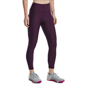 Under Armour Womens HeatGear Hi-Rise Ankle Leggings Bottoms Pants Trousers