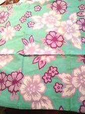 Pottery Barn Teen Standard Pillow Sham Beach House Floral 26x20 Pool Purple Aqua