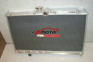 2 ROW For Mitsubishi Lancer EVO 7 8 9 EVO7 EVO8 EVO9 01-07 Aluminum Radiator MT