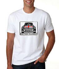 T SHIRT MENS MINI S M L XL BRITISH CLASSIC CAR SPORTS GIFT NOVELTY TEE NEW