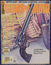 Magazine GUNS & AMMO June 1976 DWM Luger Portugese 1906 Naval PISTOL, ROSS RIFLE