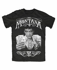 Montana Money PremiumT-Shirt Tony,Scarface,Capone,Gangster,Power,Dope,Kult,Movie