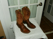 Ariat 10001056 Womens Legend Square Toe Russet Rebel WESTERN Boots Brown 8.5 B
