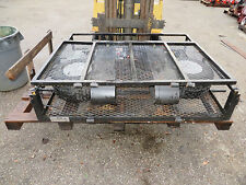 "Smithco Utility Transport Trailer Loading Ramp 1200 lbs capacity Bed 48"" x 54"""