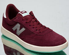 New Balance Numeric 440 Men's Burgundy Grey Low Skate Lifestyle Sneakers Shoes