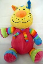 """CUDDLY & COLOURFUL PLUSH """"ALI"""" THE PUSSY CAT LOVELY FOR LITTLIES BRAND NEW"""