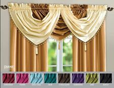 Voile Solid Contemporary Curtains & Pelmets