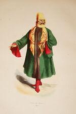 ASIE GRAVURE COULEURS TURC DE MARDIN WHALEN 1843 W106