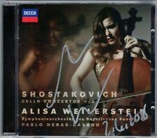 Alisa WEILERSTEIN Signiert SHOSTAKOVICH Cello Concerto 1 2 Pablo HERAS-CASADO CD