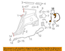 TOYOTA OEM 12-15 Prius Plug-In QUARTER PANEL-Lock Assembly 7703047021B0
