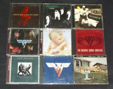 Van Halen CD lot bundle - Women and Children First, II, 1984, OU812, Live + RARE
