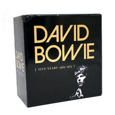"David Bowie ""Five Years 1969-1973"" 12 CD Box Set Collection Limited Edition"