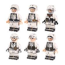 *US SELLER* WW2 6pcs Winter German Custom Military Army Soldier Minifigures