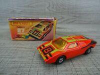 Matchbox Superfast Streakers Lesney Lamborghini Countach No 27 Diecast Car 1973